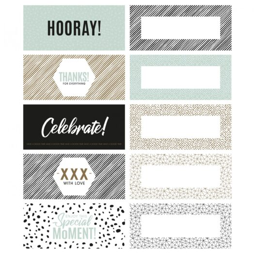 Perfect Basics cadeaulabels nieuw design | CollectivWarehouse