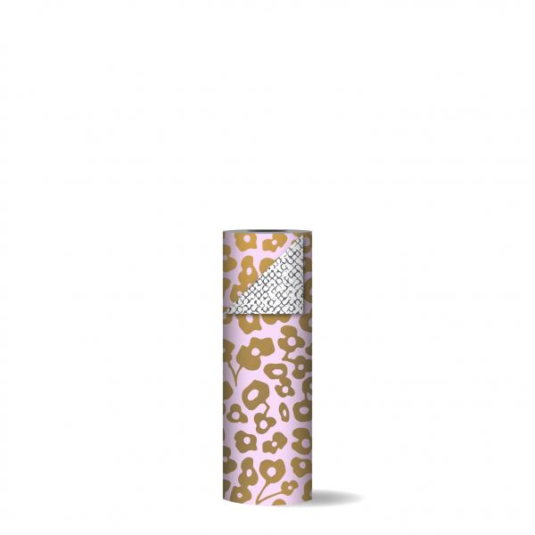 Toonbankrol 30cm Wild Flower roze/goud | CollectivWarehouse