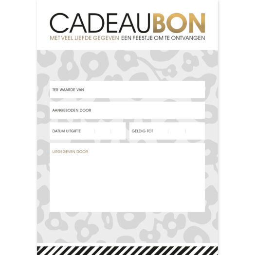 Cadeaubon Wild Flower | CollectivWarehouse
