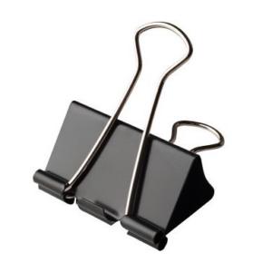 Foldback papierklemmen 51mm zwart | CollectivWarehouse