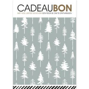 Cadeaubon Lovely Trees ijsblauw | CollectivWarehouse