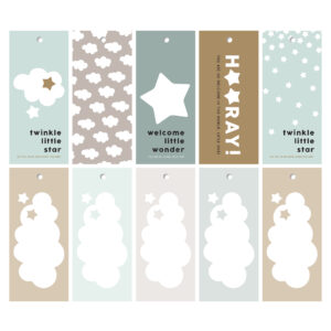 Newborn cadeaulabels jongen | CollectivWarehouse