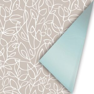Cadeaupapier Fine Fleurs zand/wit/mint | CollectivWarehouse