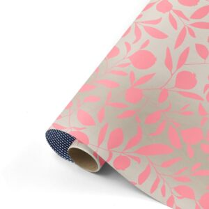 Cadeaupapier Fresh Fruit champagne/neonroze/blauw | CollectivWarehouse