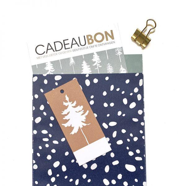 Cadeaubonnen pakket Lovely Trees ijsblauw | CollectivWarehouse