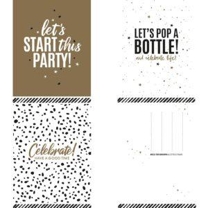 Let's Party wenskaartenset 30 stuks | CollectivWarehouse