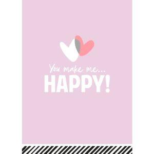 You make me Happy wenskaarten | CollectivWarehouse
