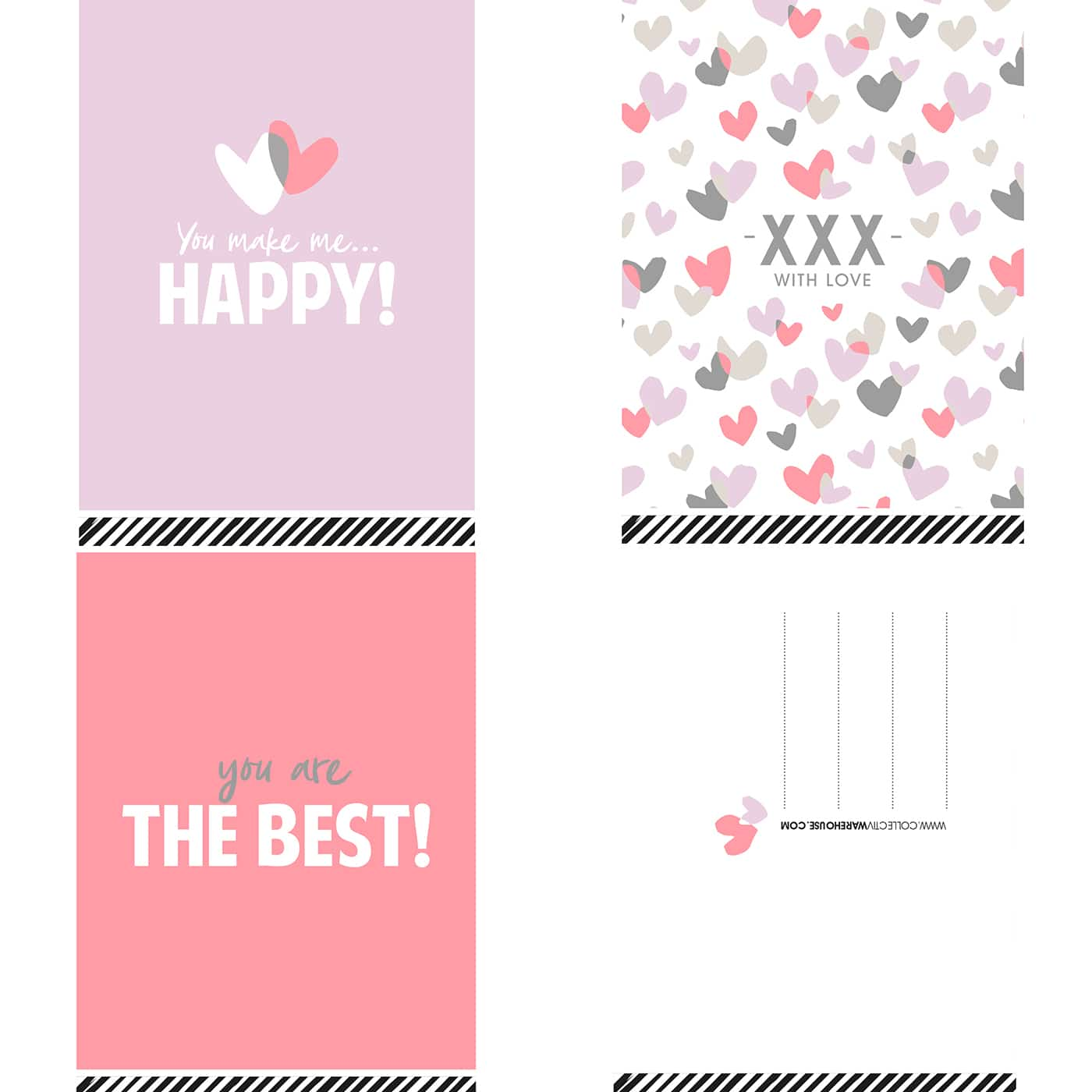 Valentine wenskaartenset 30 stuks | CollectivWarehouse