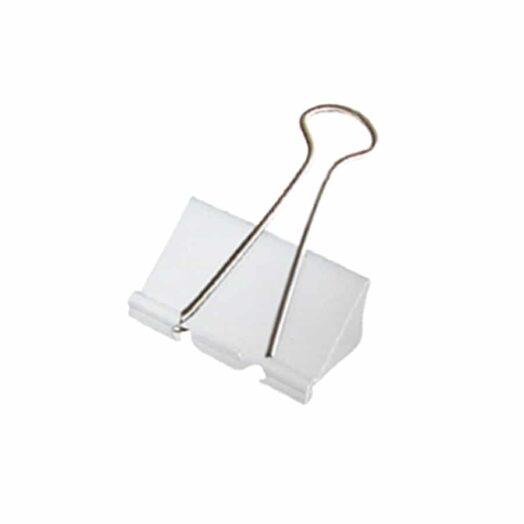 Foldback papierklemmen 32mm wit | CollectivWarehouse