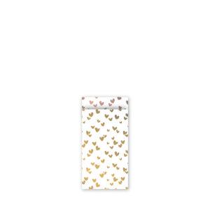 Cadeauzakjes 7x13cm Solo Hearts goud/rose | CollectivWarehouse