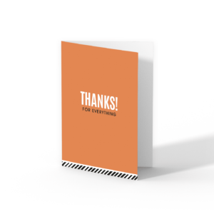 Thanks greeting cards | CollectivWarehouse