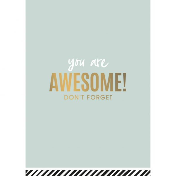 You are Awesome wenskaarten | CollectivWarehouse