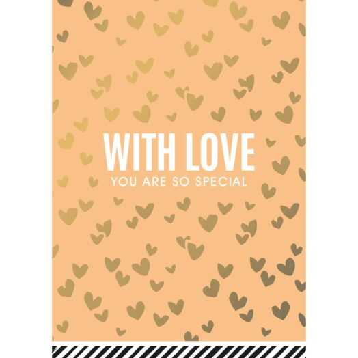 With love Gold wenskaarten | CollectivWarehouse