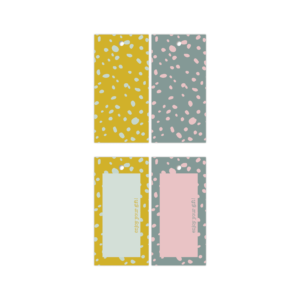 Cadeaulabels Colorful Terrazzo | CollectivWarehouse