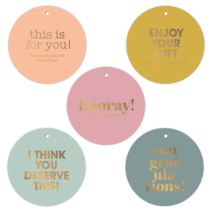 Cadeaulabels Reinventing Spaces Round | CollectivWarehouse