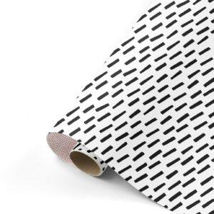 Cadeaupapier Open Spaces zwart/wit/oudroze | CollectivWarehouse