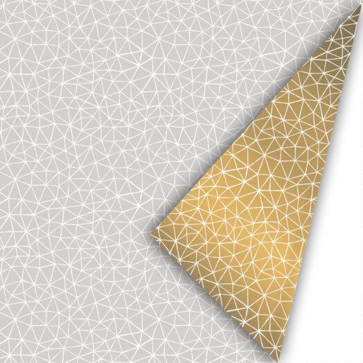 Cadeaupapier Subtle Graphics grijs/goud | CollectivWarehouse