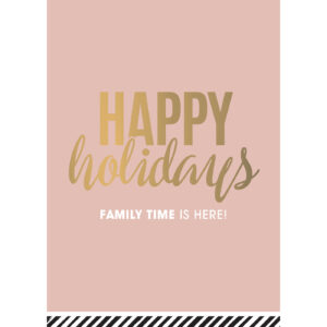 Kerstkaart Happy Holidays | CollectivWarehouse