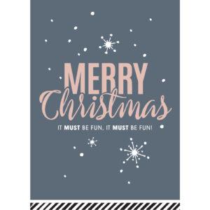 Kerstkaart Merry Christmas | CollectivWarehouse
