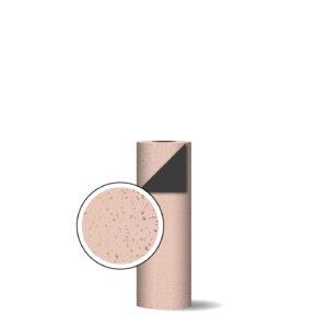 Toonbankrol 100m 30cm Twinkling stars roze/goud/zwart | CollectivWarehouse
