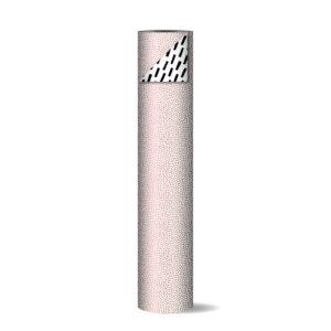 Toonbankrol 50cm 100m Cozy Cubes roze wit zwart   CollectivWarehouse