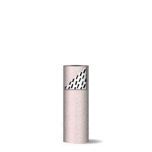 Toonbankrol 30cm 100m Cozy Cubes roze wit zwart   CollectivWarehouse