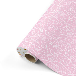 Cadeaupapier Fine Fleurs roze | CollectivWarehouse