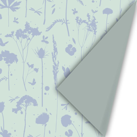 Cadeaupapier GROW mint&blue | CollectivWarehouse