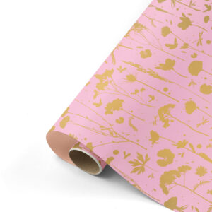 Cadeaupapier GROW pink&gold | CollectivWarehouse