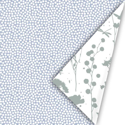 Cadeaupapier Spring Cubes blue | CollectivWarehouse