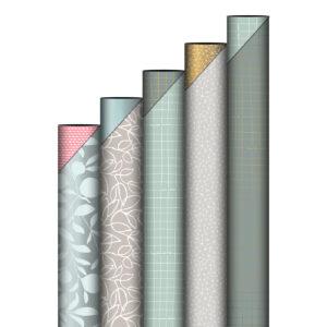 Rollen cadeaupapier Sage & Grey | CollectivWarehouse