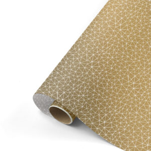 Cadeaupapier Subtle Graphics goud/grijs | CollectivWarehouse