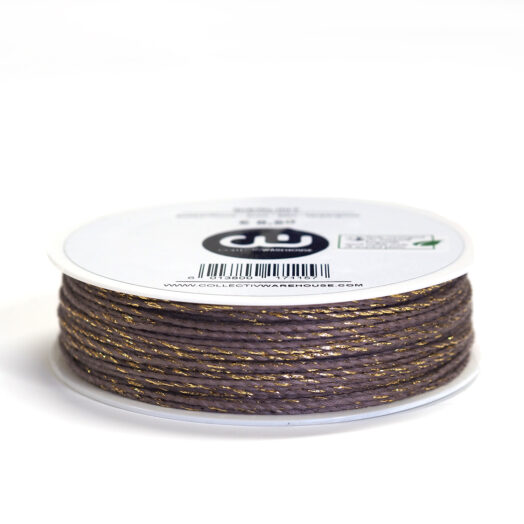 Bakkerstouw 1mm taupe goud 50m | CollectivWarehouse