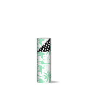 Toonbankrol 30cm Tropical Party fresh mint/zwart   CollectivWarehouse