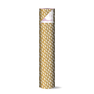 Toonbankrol 50cm Open Spaces goud/wit   CollectivWarehouse