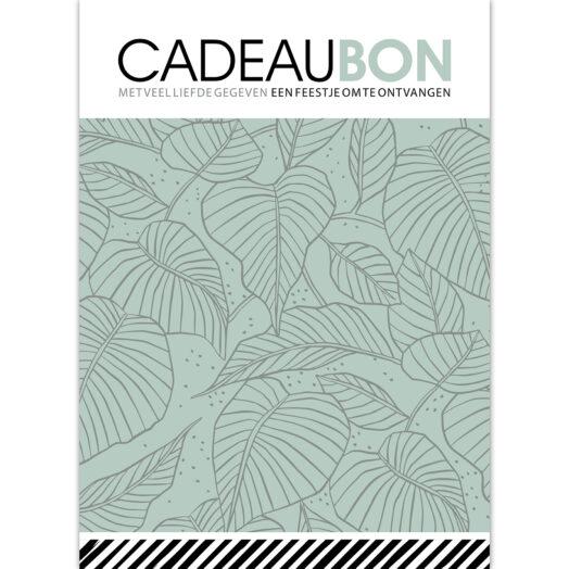 Cadeaubon Lovely Leaves salie | CollectivWarehouse