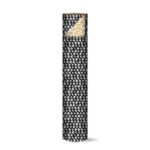 Toonbankrol 50cm Love Letters zwart/goud   CollectivWarehouse
