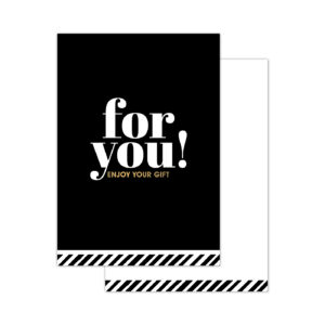 Minikaartjes For You! 20 stuks | CollectivWarehouse