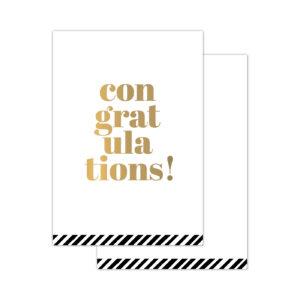 Minikaartjes Congratulations 20 stuks | CollectivWarehouse