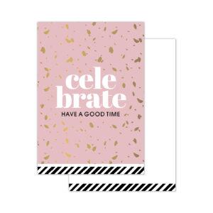 Minikaartjes Celebrate 20 stuks | CollectivWarehouse