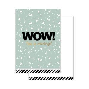 Minikaartjes WOW! 20 stuks | CollectivWarehouse
