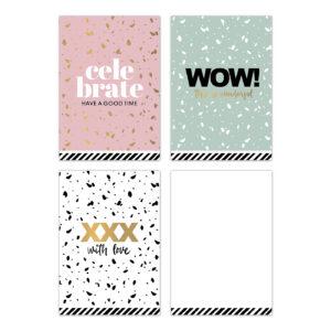 Minikaartjes SOW assorti 30 stuks | CollectivWarehouse