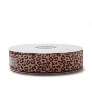Sierlint animalprint 25mm leopard | CollectivWarehouse