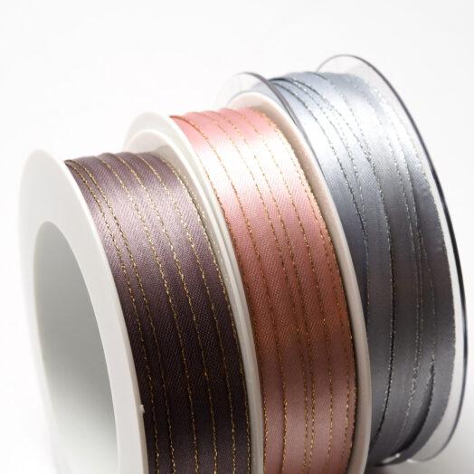 Satijnlint goudband - 6mm - 50m | CollectivWarehouse