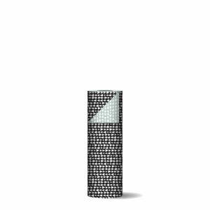 Toonbankrol 30cm Ethnic Triangles zwart/salie   CollectivWarehouse