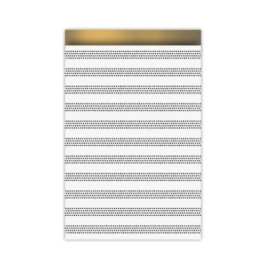 Cadeauzakjes 17x25cm Raster Stripes chique | CollectivWarehouse