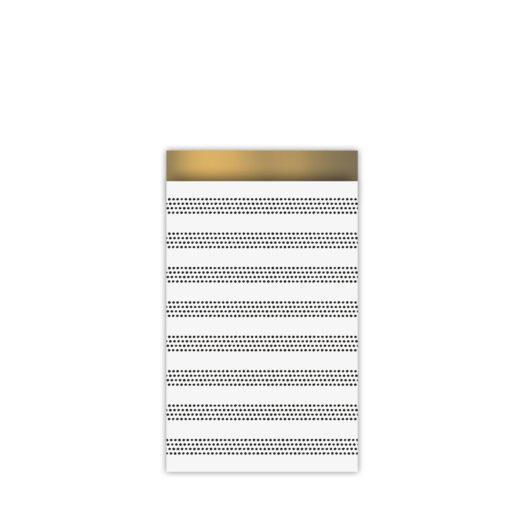 Cadeauzakjes 12x19cm Raster Stripes chique | CollectivWarehouse