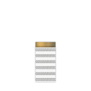 Cadeauzakjes 7x13cm Raster Stripes chique | CollectivWarehouse