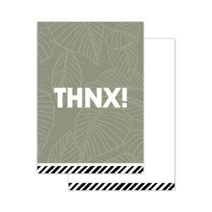 Minikaartjes Arts & Crafts THNX | CollectivWarehouse