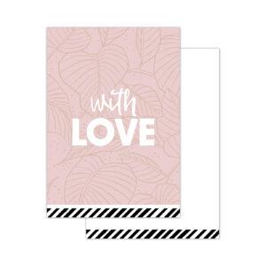 Minikaartjes Arts & Crafts With love | CollectivWarehouse